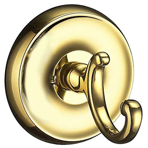 Smedbo V255 Towel Hook, Polished Brass