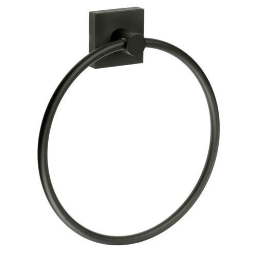 Smedbo RB344 Towel Ring, Black