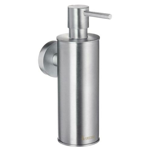 Smedbo HS370 Wallmounted Soap Disp., Brushed Chrome